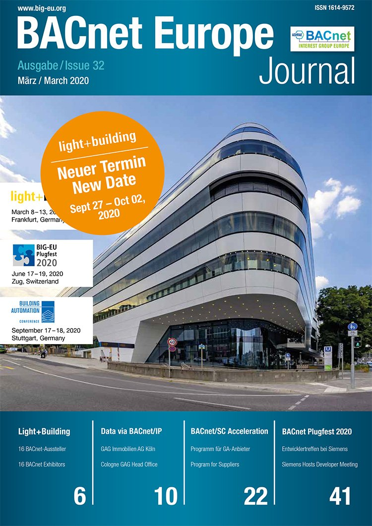 BACnet Europe Journal 32